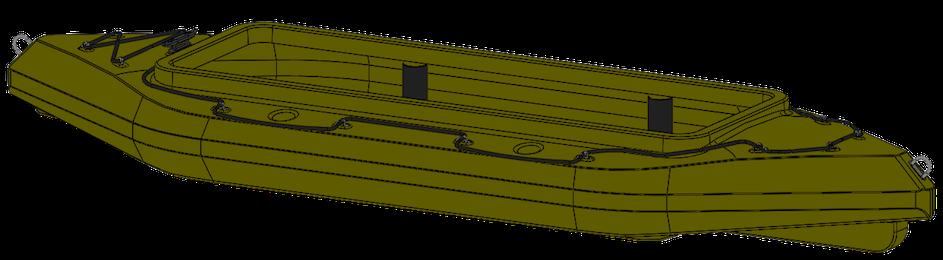 лодки профилем с низким