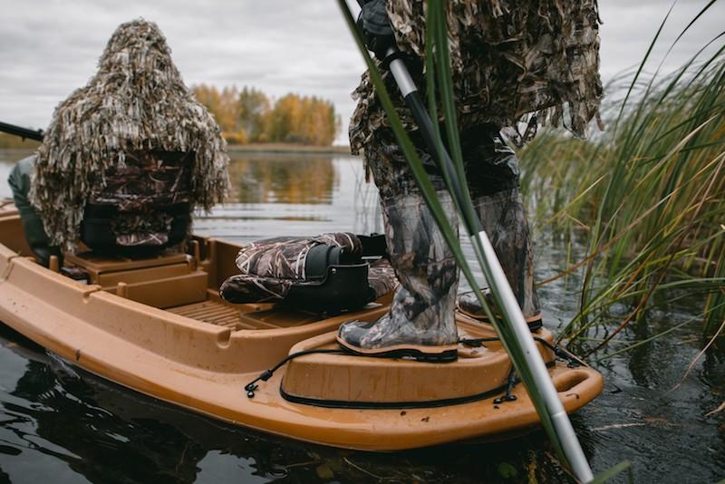 ютуб лодка для охоты